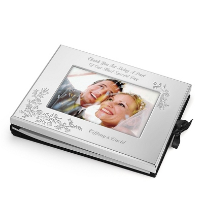 Personalized Guest Book for Wedding - 4 products