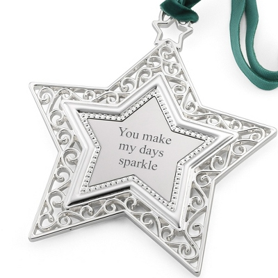 Heirloom Star 2D Ornament - $19.99