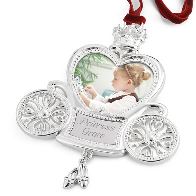 Heirloom Princess Carriage 2D Ornament - $19.99