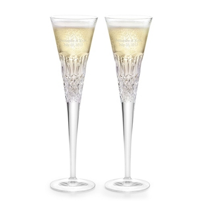 Waterford Monique Lhuillier Ellypse Flutes - $110.00