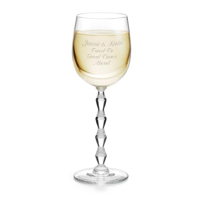Bridesmaid Gifts Personalized Wine Glasses