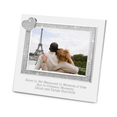 Silver Engraved Picture Frames