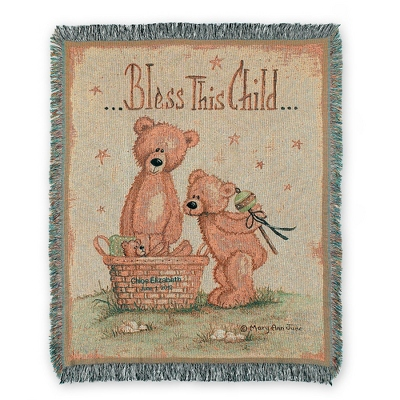 Childs Personalized Blanket