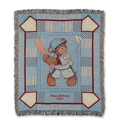 Baseball Bear Throw