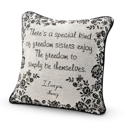 Sister Special Bond Pillow - UPC 825008296169