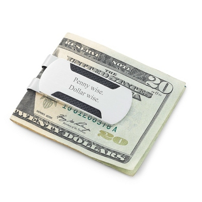 Engraved Money Clip Gift