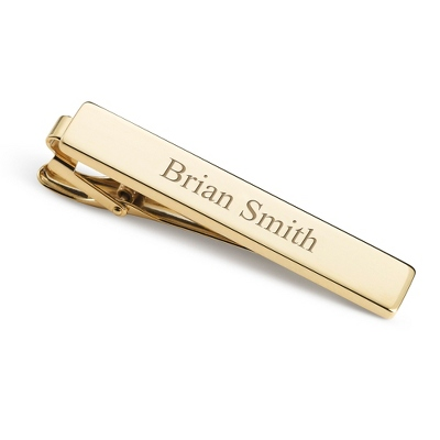 Classically Gold Tie Bar