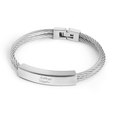 Silver Id Bracelets - 24 products