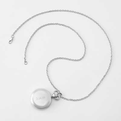 Ladies Silver Watch
