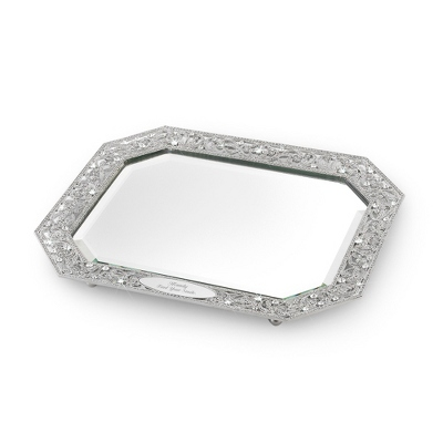 Park Avenue Reflective Serving Tray