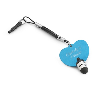 Blue Heart Touch Screen Stylus