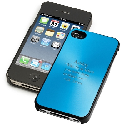 Blue iPhone 4 & 4S Case