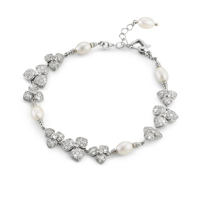 Dogwood Bracelet - Bridal Jewelry