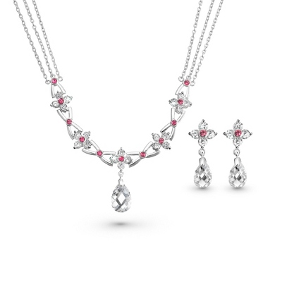 Custom Flora Necklace & Earring Set - $70.00