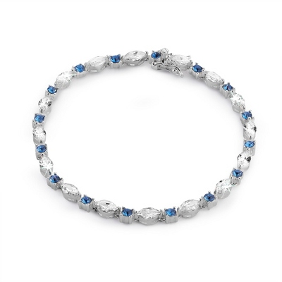 Custom Marquise Tennis Bracelet - Clearance Items for Her