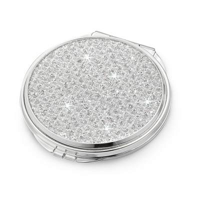 Personalized Silver Compact - 4 products