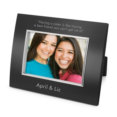 Landscape Classic Bevel Black 4x6 Frame - Business Gifts For Her