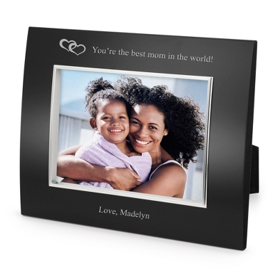 Landscape Classic Bevel Black 5x7 Frame - Business Gifts For Her