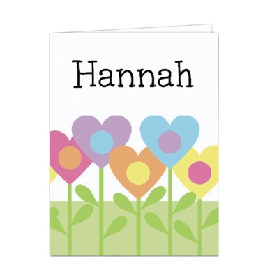 Heart Garden Set of 2 Folders - Children's School Gifts