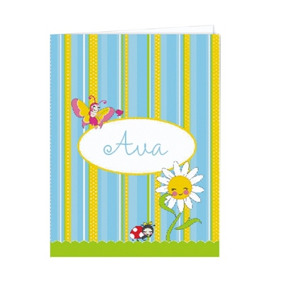 Garden Party Set of 2 Folders - Children's School Gifts