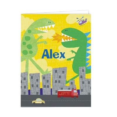 Dinos Set of 2 Folders - UPC 825008299535