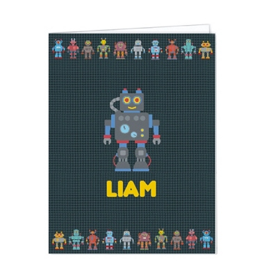 Robotz Set of 2 Folders - Children's School Gifts