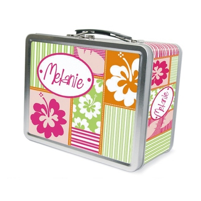 Hula Girl Lunch Box