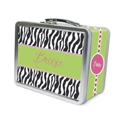 Zebra Lunch Box - Children's School Gifts
