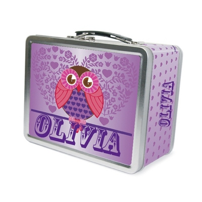 Hoot Hoot Lunch Box - Children's School Gifts