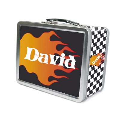 Flame Lunch Box - UPC 825008299818