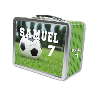 Soccer Lunch Box - UPC 825008299856