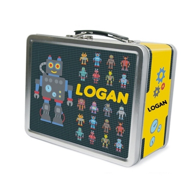 Robotz Lunch Box - UPC 825008299924