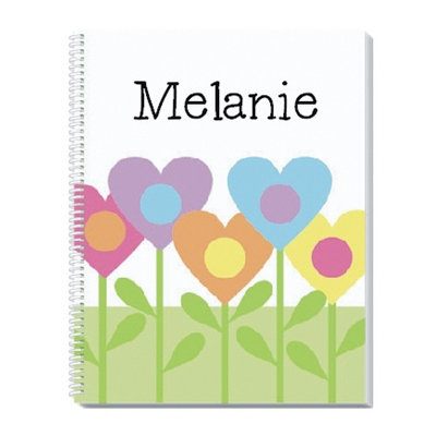 Heart Garden Notebook - Children's School Gifts