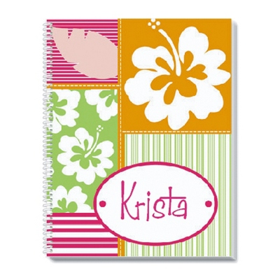 Hula Girl Notebook