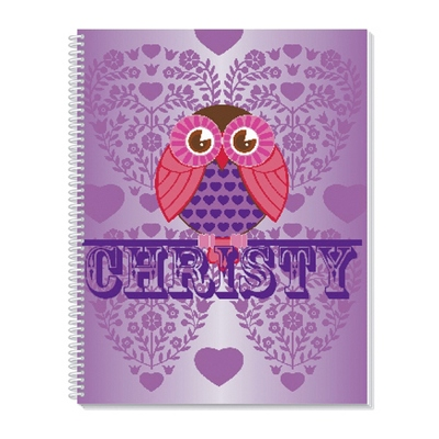 Hoot Hoot Notebook - Children's School Gifts