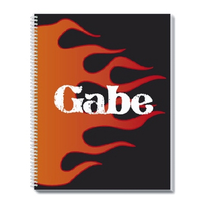 Flame Notebook - Children's School Gifts
