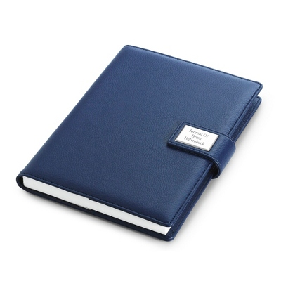 Medium Blue Journal - Business Gifts For Him