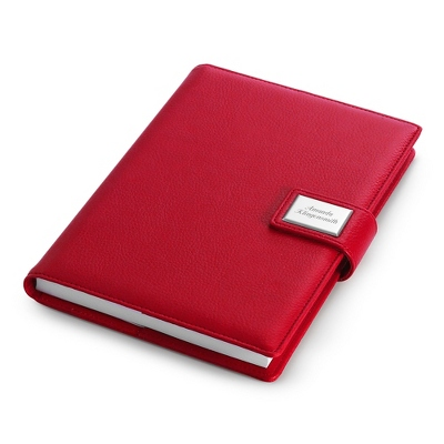 Medium Red Journal