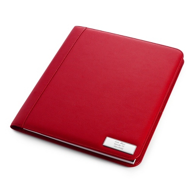 Large Red Padfolio - UPC 825008300613
