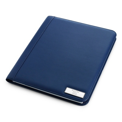 Large Blue Padfolio - UPC 825008300620