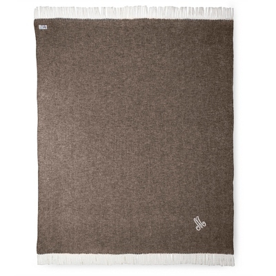 Chestnut Herringbone Throw - $70.00