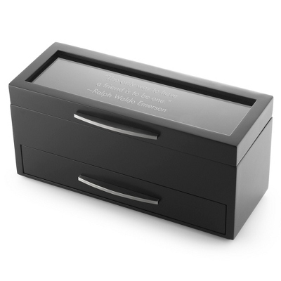 Mens Black Jewelry Box - 24 products