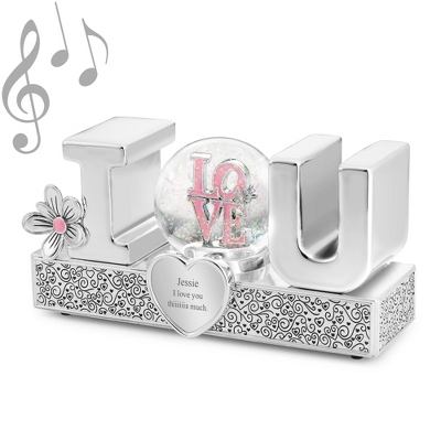 I Love You Musical Water Globe - $39.99