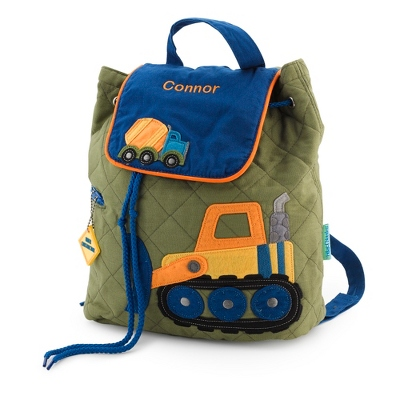 Construction Quilted Backpack - Kid's Backpacks & Travel Bags