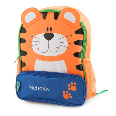 Kids Personalized Tiger Sidekick Backpack