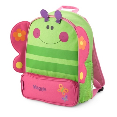 Girl's Personalized Butterfly Sidekick Backpack