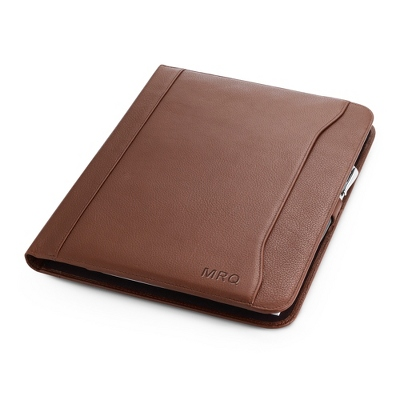 Brown Leather Padfolio - UPC 825008301757