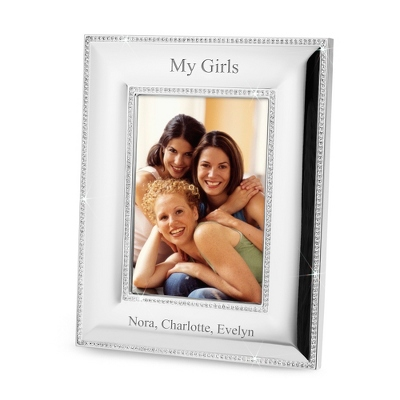Portrait Double Bling 5x7 Frame - $26.25
