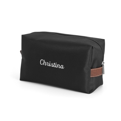 Black Large Cosmetic Bag