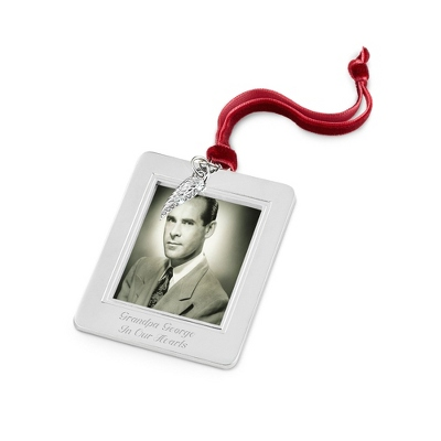 Angel Wing Charm Photo Frame Ornament